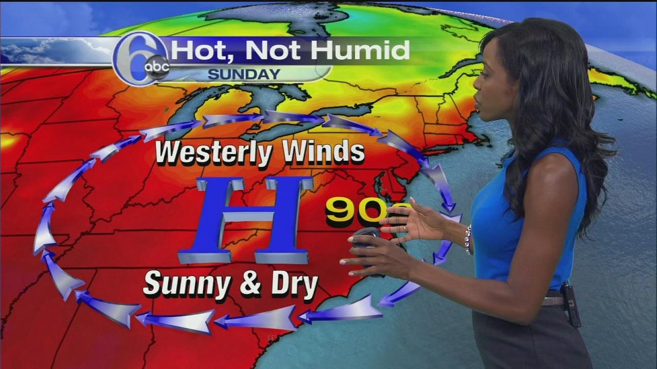 VIDEO: Melissa Magee with AccuWeather