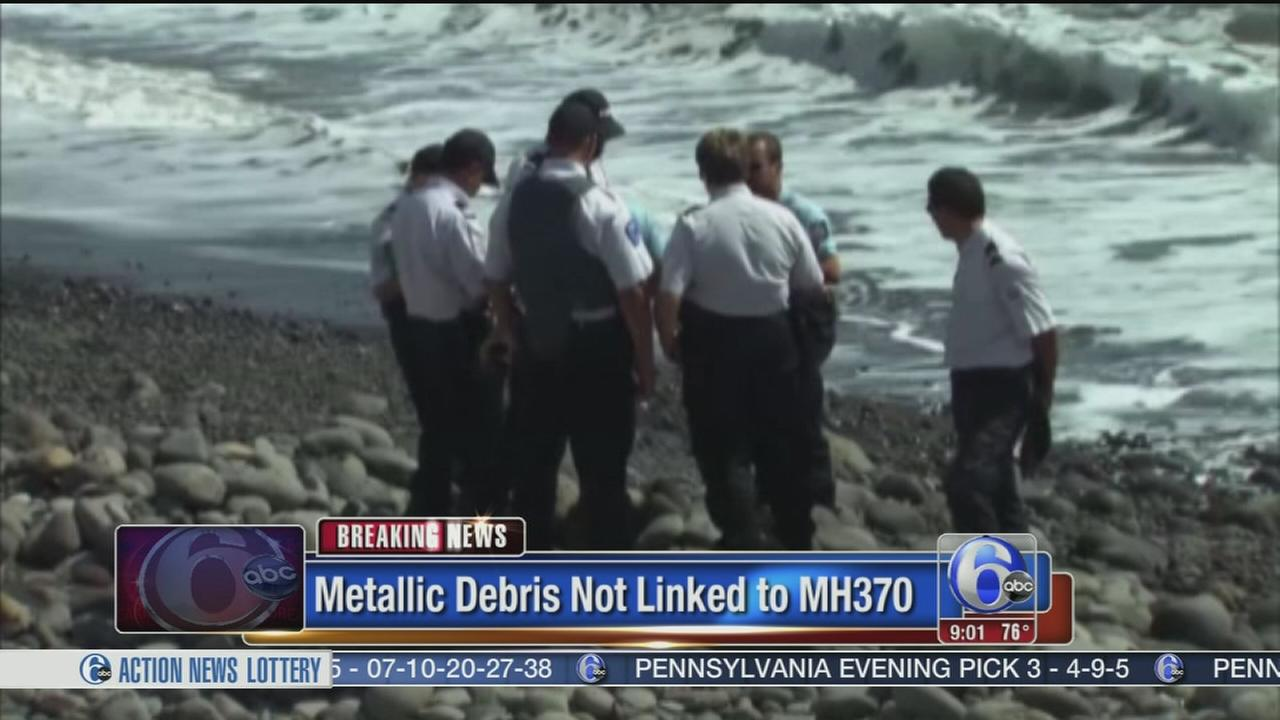 VIDEO: Object not part of missing Malaysia Airlines plane