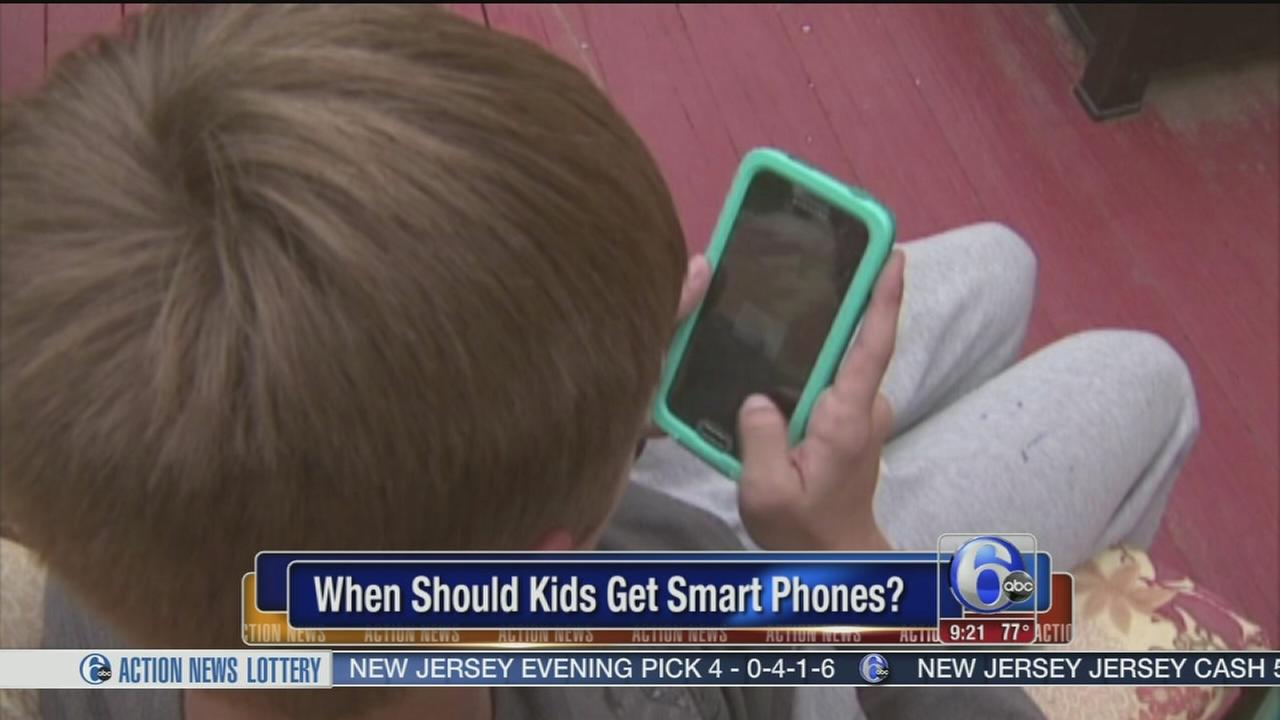 VIDEO: How young is too young for children to have smartphones?