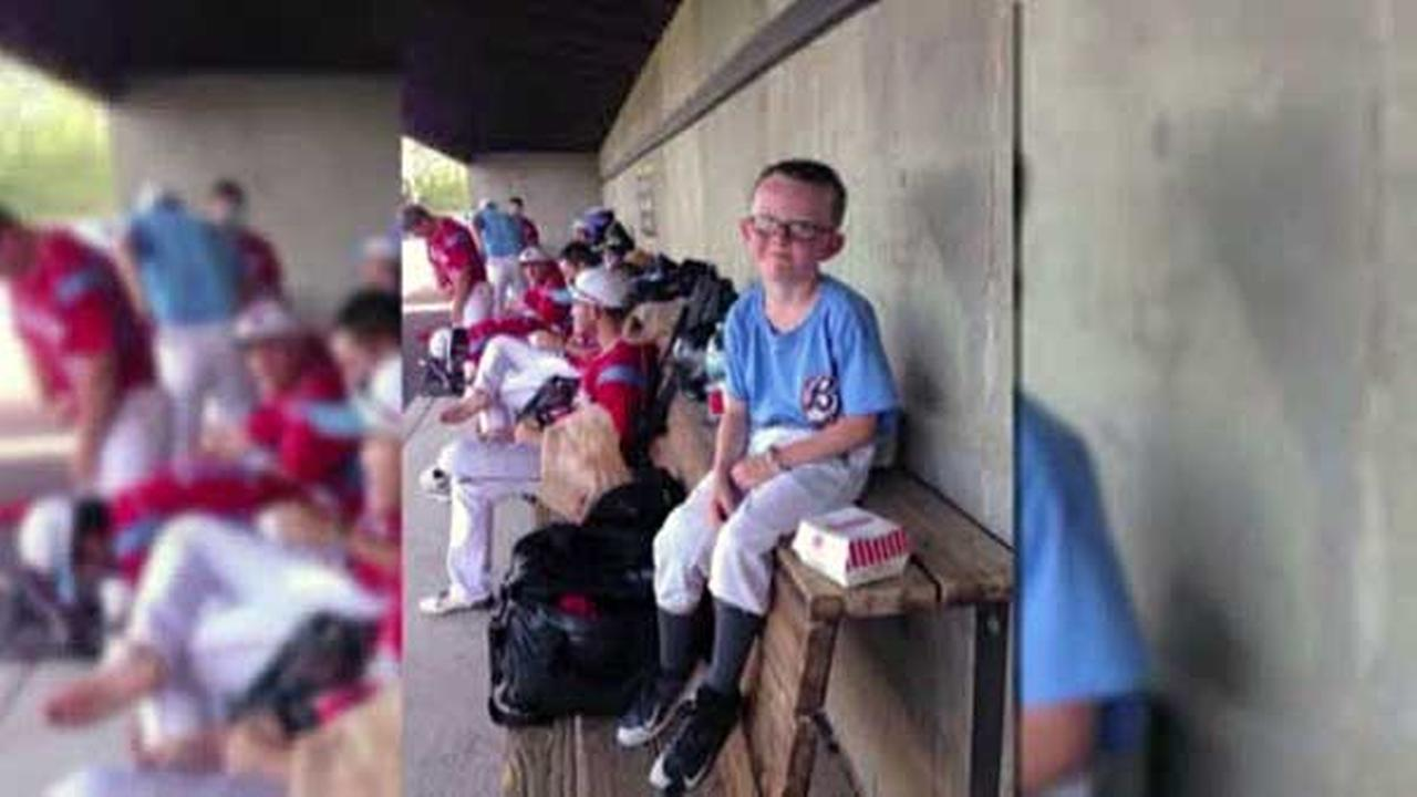 A 9-year-old bat boy has died after he was accidentally hit in the head during a National Baseball Congress World Series game in Kansas.