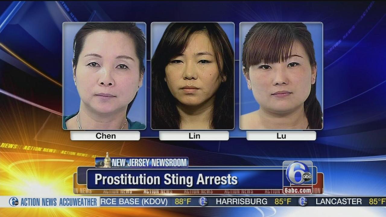 VIDEO: Prostitution sting targets 3 Mercer Co. locations