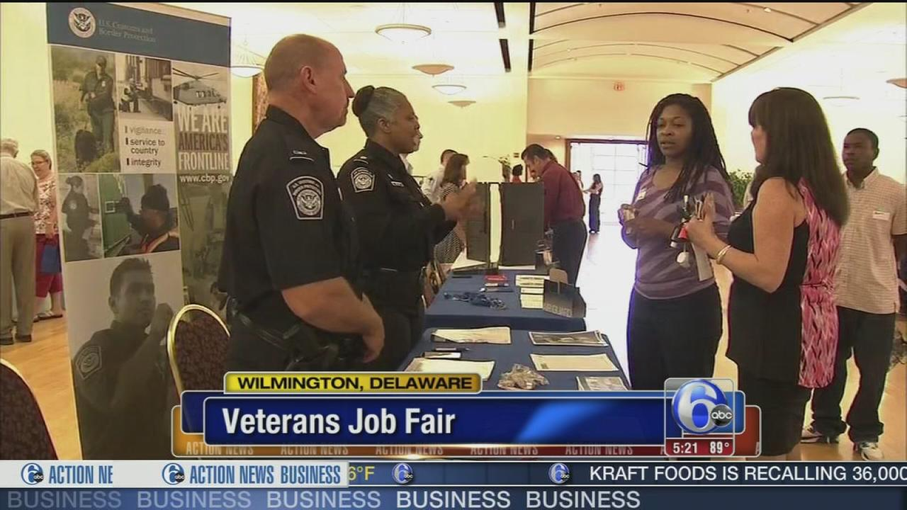 Job fairs for vets in Del.