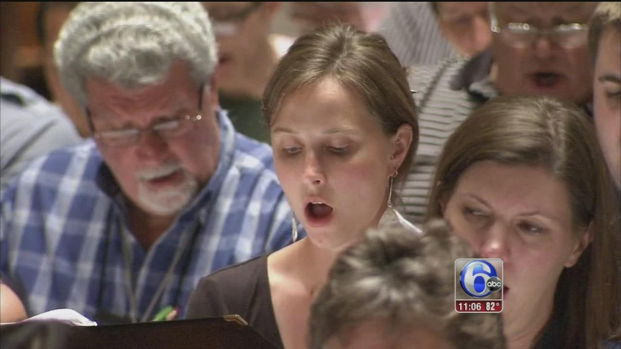 VIDEO: Papal choir rehearses for pope performance