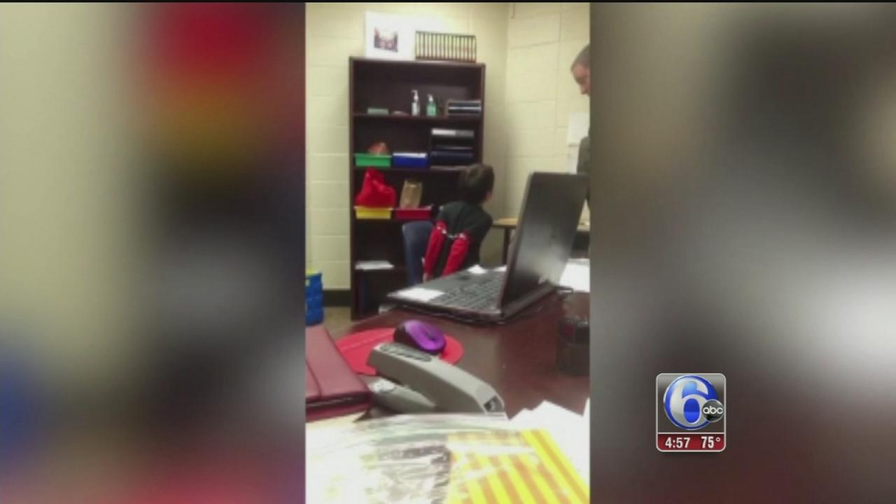 VIDEO: Child placed in handcuffs in Ky. school