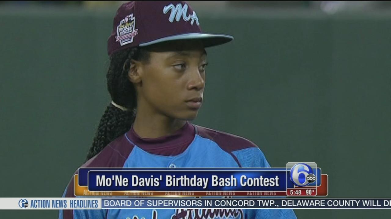 VIDEO: MoNe Davis birthday bash contest