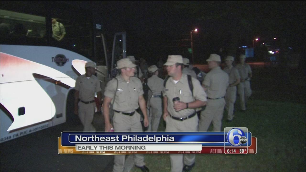 Police recruits trek to D.C.