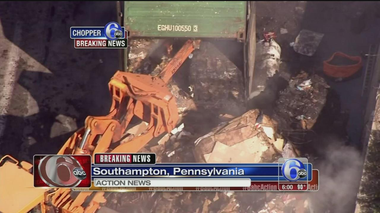 VIDEO: Tractor trailer crash shuts down Pa. Turnpike