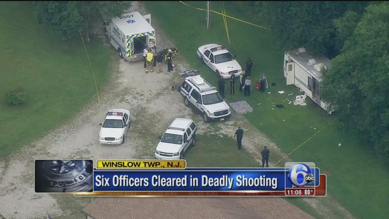 VIDEO: 6 officers cleared in deadly shooting