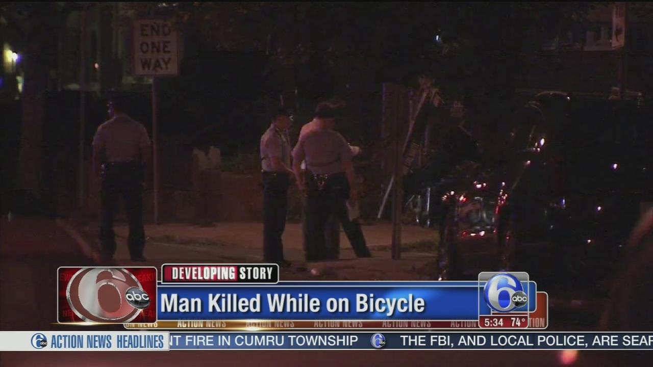 VIDEO: Bicyclist killed execution-style