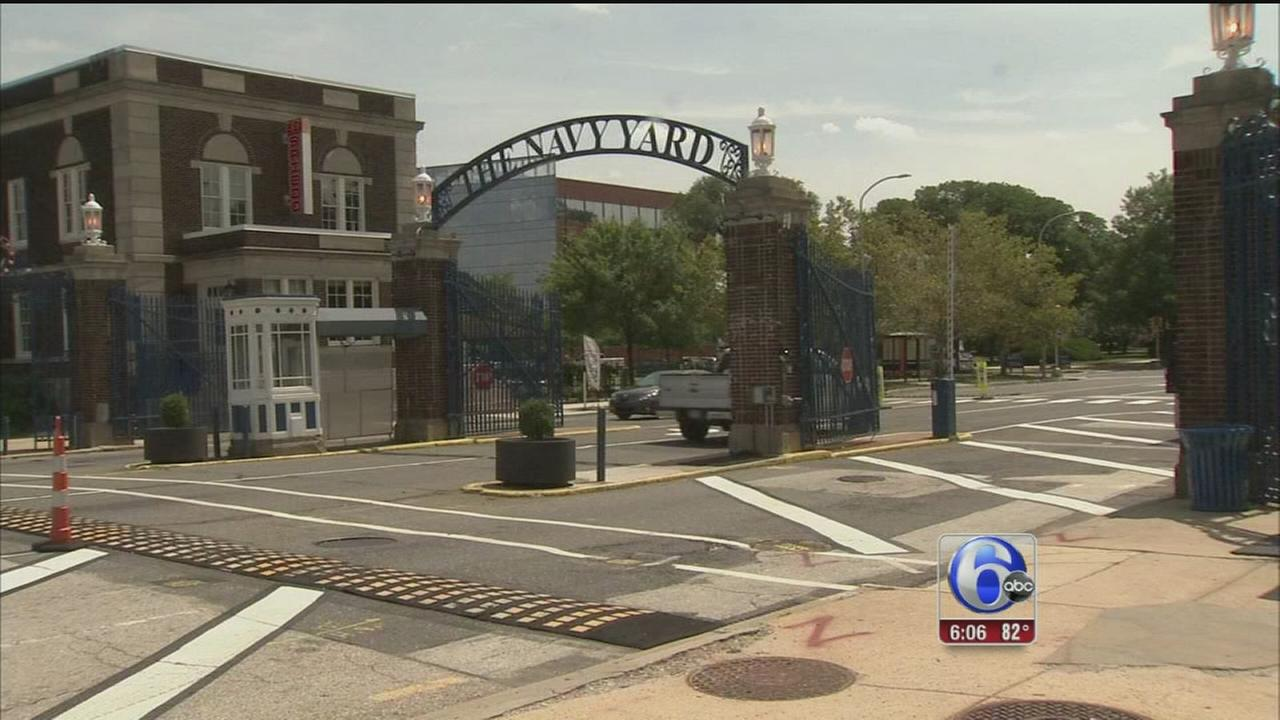 VIDEO: Safety measures under review at Phila. Navy Yard