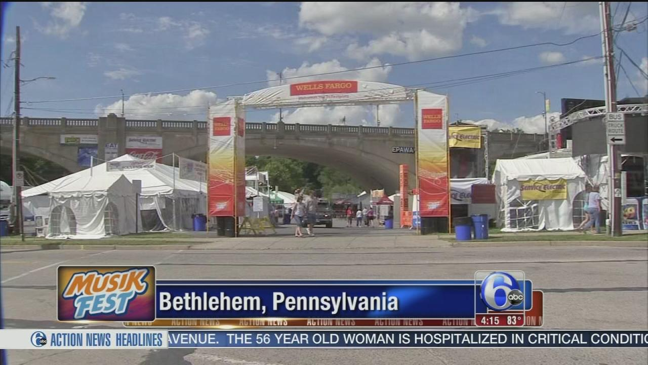 VIDEO: Musikfest begins in Bethlehem