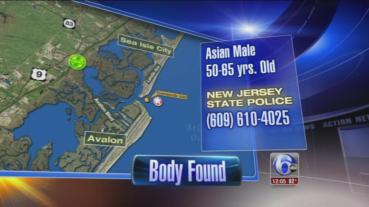 VIDEO: Body found off Sea Isle City