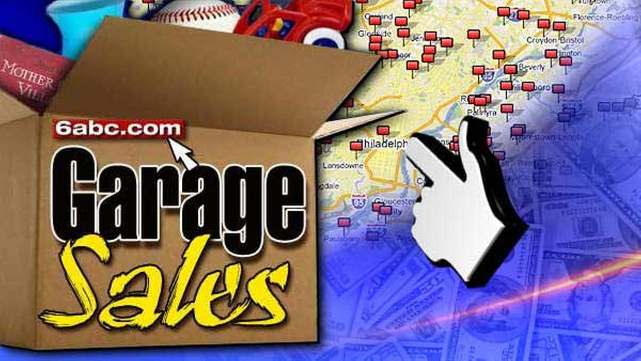 Garage Sales on 6abc.com