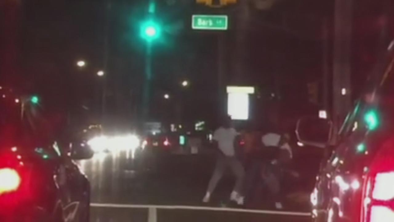 VIDEO: Road rage stabbing caught on video