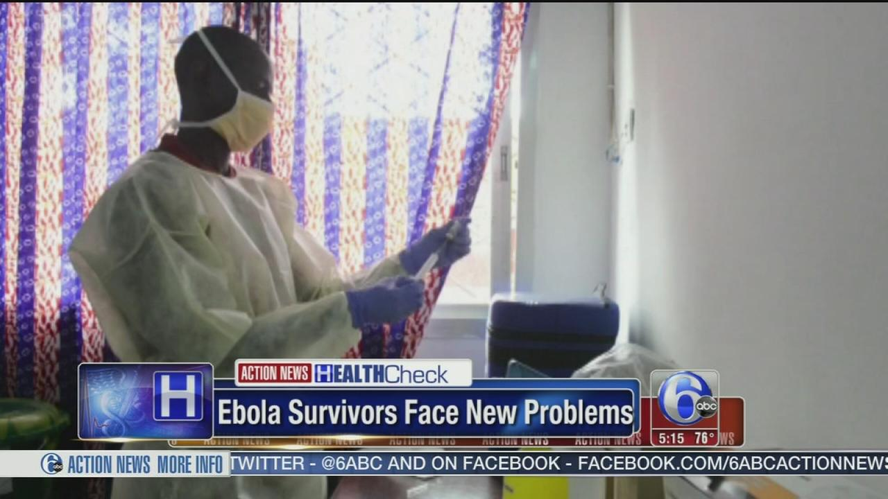VIDEO: Ebola survivors face new problems