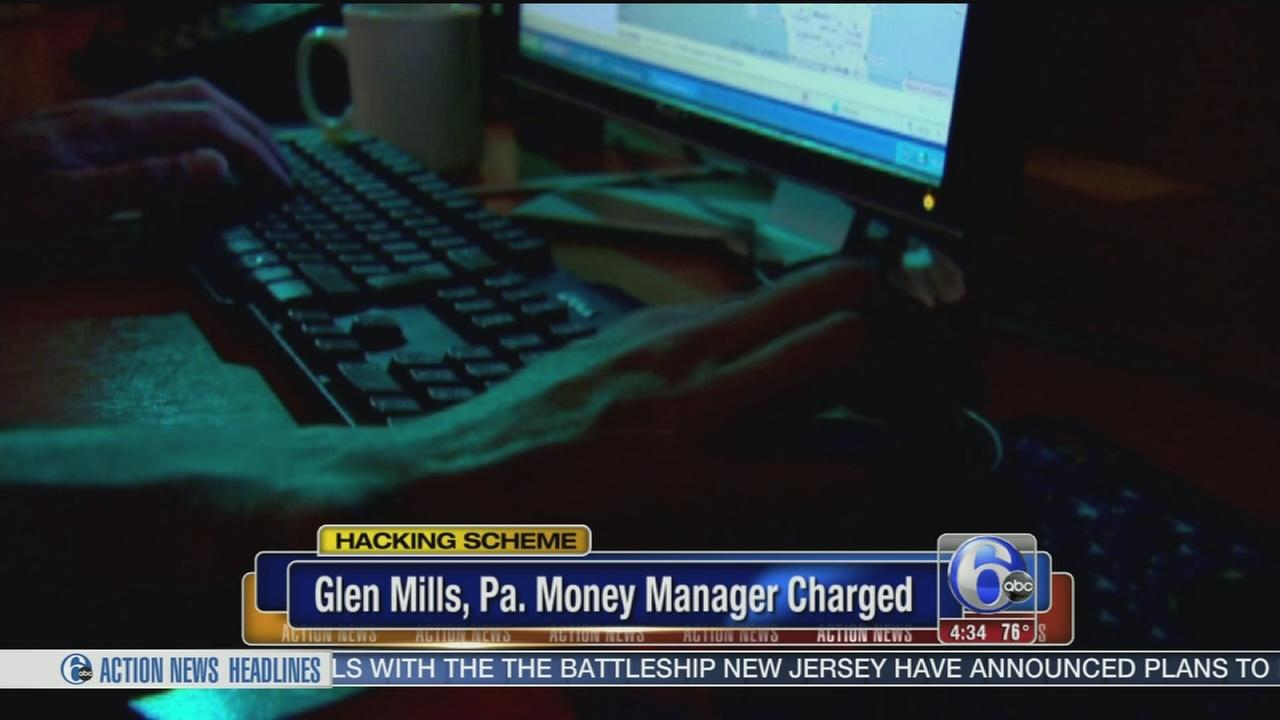 VIDEO: Glen Mills money manger charged