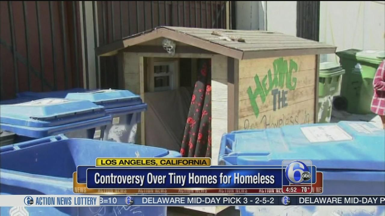 Los Angeles city councilman wants tiny houses for homeless removed