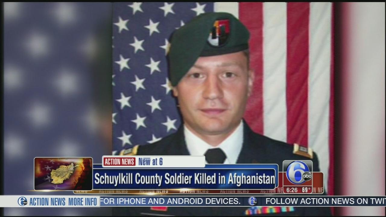 VIDEO: Death of Schuylkill County soldier investigated