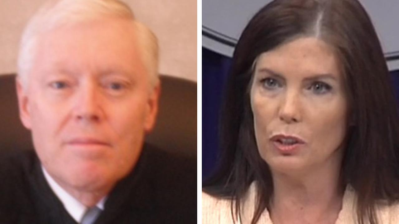 Judge William Carpenter and Attorney General Kathleen Kane