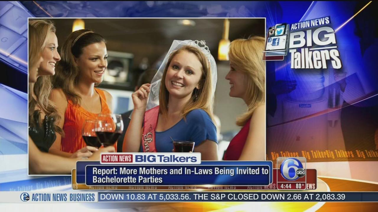 VIDEO: More moms attending bachelorette parties