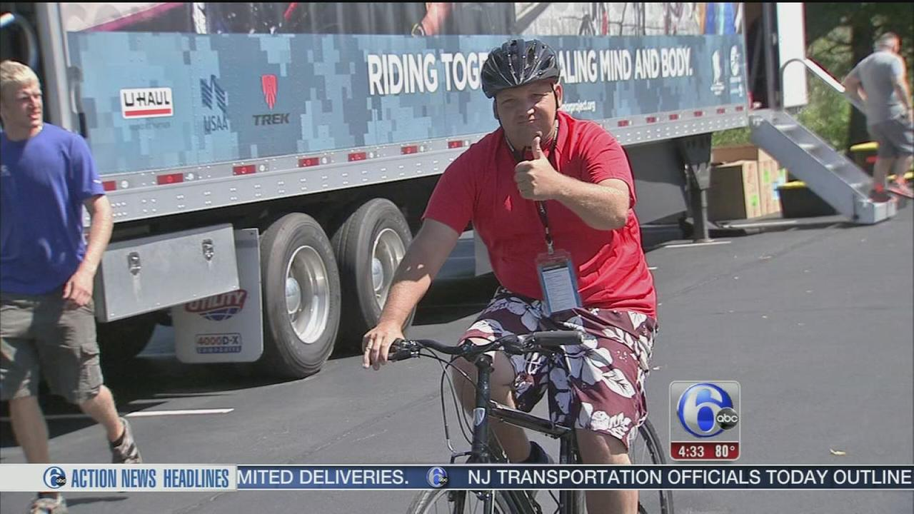 VIDEO: Soldier Ride begins in Philadelphia on Friday