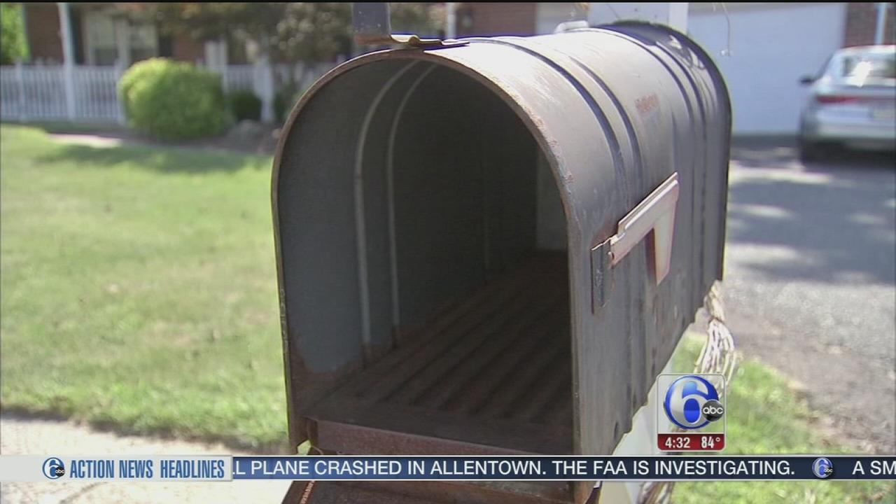 VIDEO: Mail being stolen from mailboxes in Montco community
