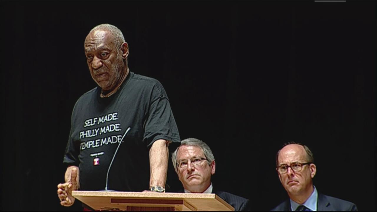 VIDEO: Bill Cosby speaks at Katz memorial