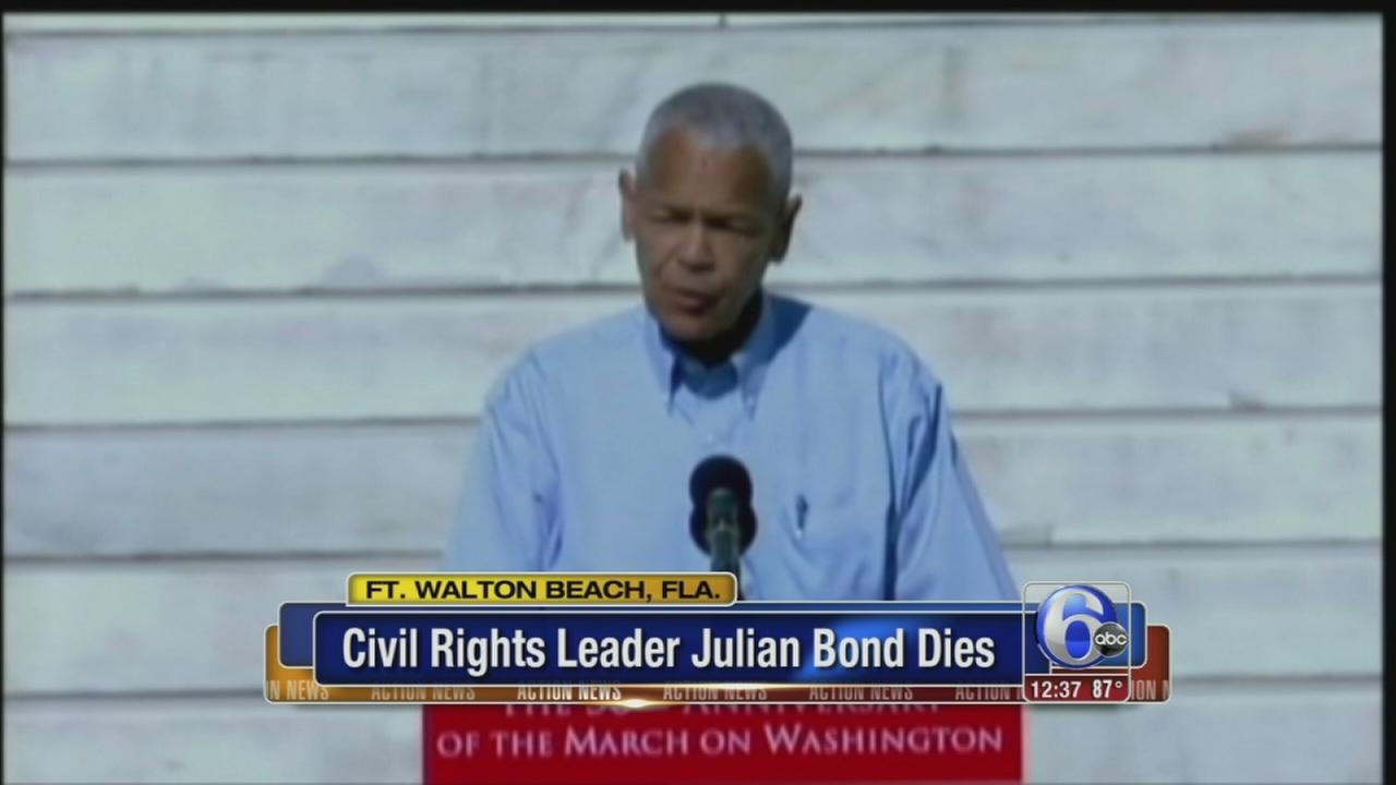 VIDEO: Civil rights activist Bond dies
