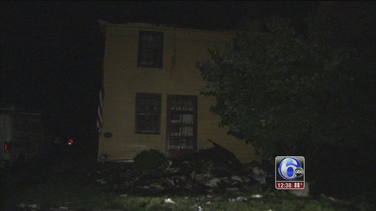 VIDEO: Firefighter hurt in Solebury fire