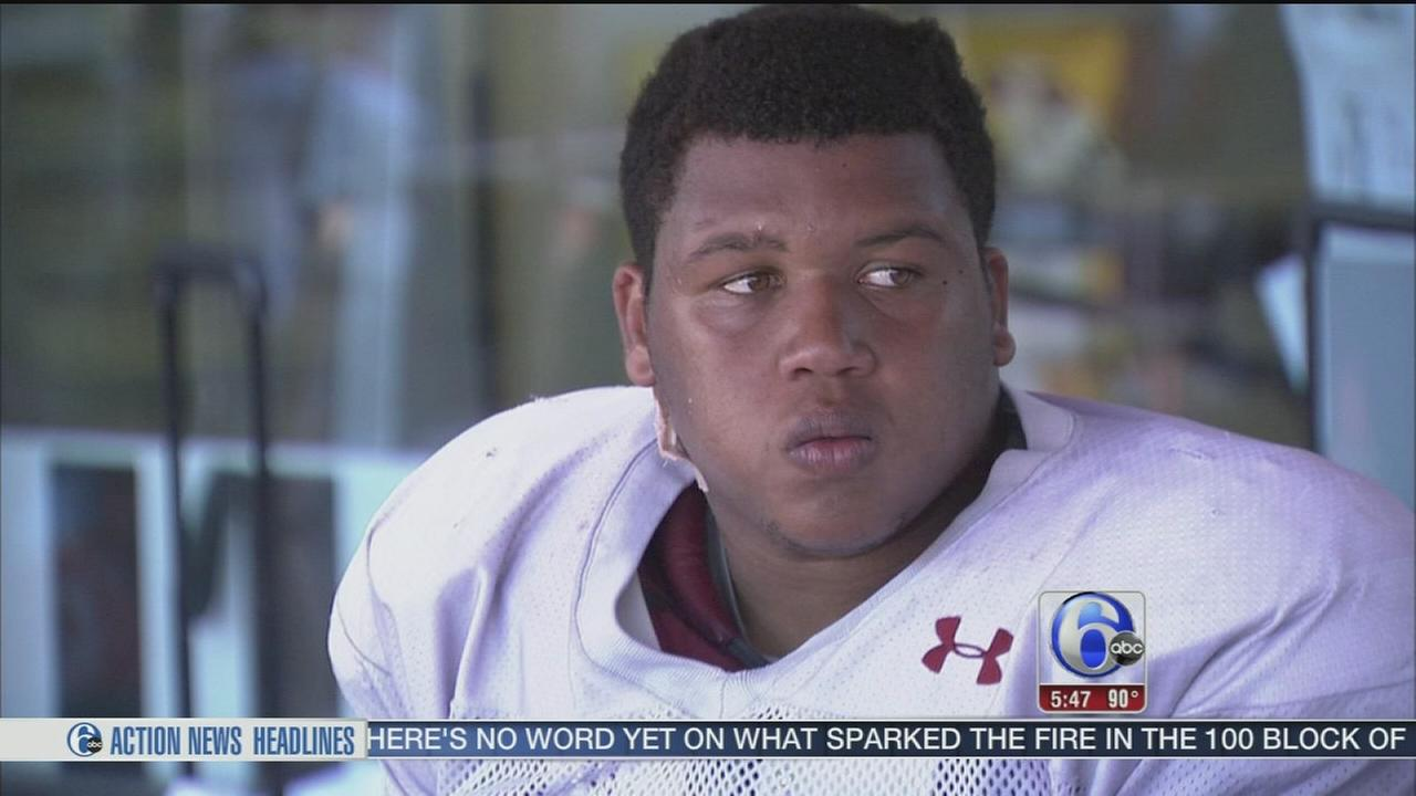 VIDEO: Temple player has brother in his heart