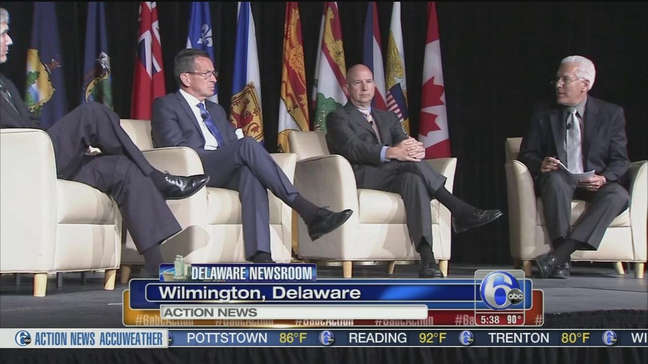 Delaware Governor looks to a better economy