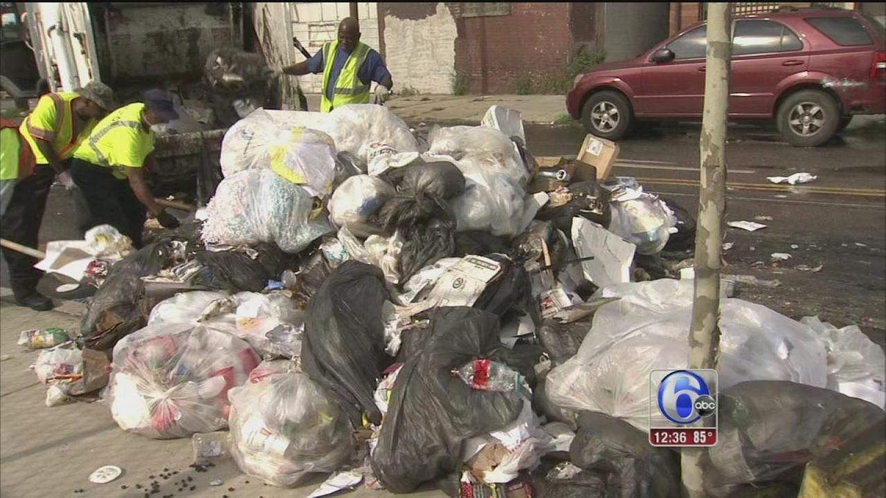 Residents Wake Up To Mound Of Trash In Mantua 6abc Com