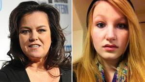Pictured are Rosie ODonnell and her 17-year-old daughter Chelsea.
