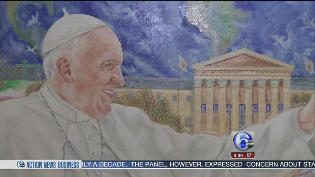VIDEO: NJ artist commissioned for official pope portrait