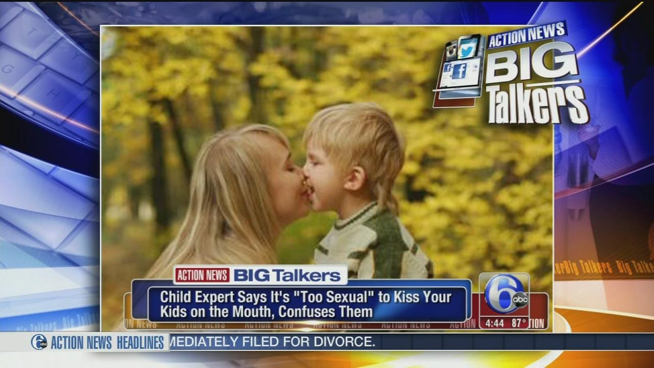 VIDEO: Child expert says its too sexual to kiss your kids on the lips