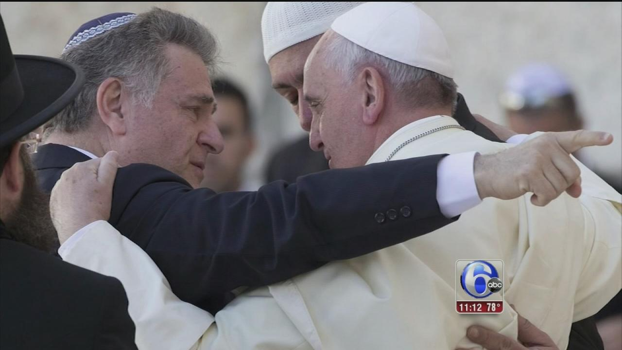 VIDEO: Meeting two of the popes friends