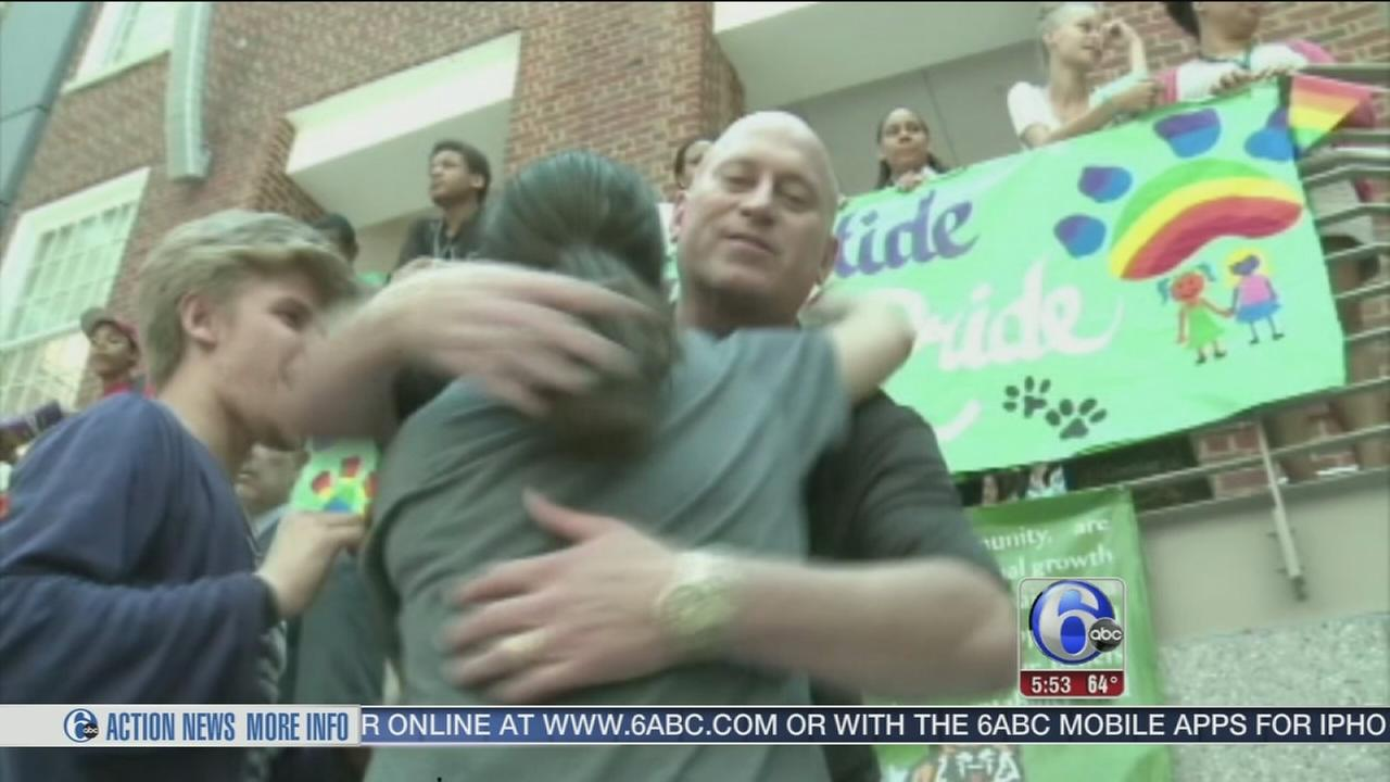 VIDEO: Gay principal comes out to students