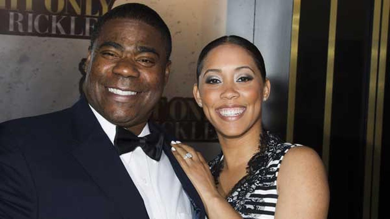 FILE - In this Tuesday, May 6, 2014, file photo, Tracy Morgan and Megan Wollover attend One Night Only: An All-Star Tribute To Don Rickles, in New York.