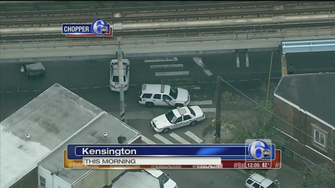 VIDEO: Man shot and killed in Kensington