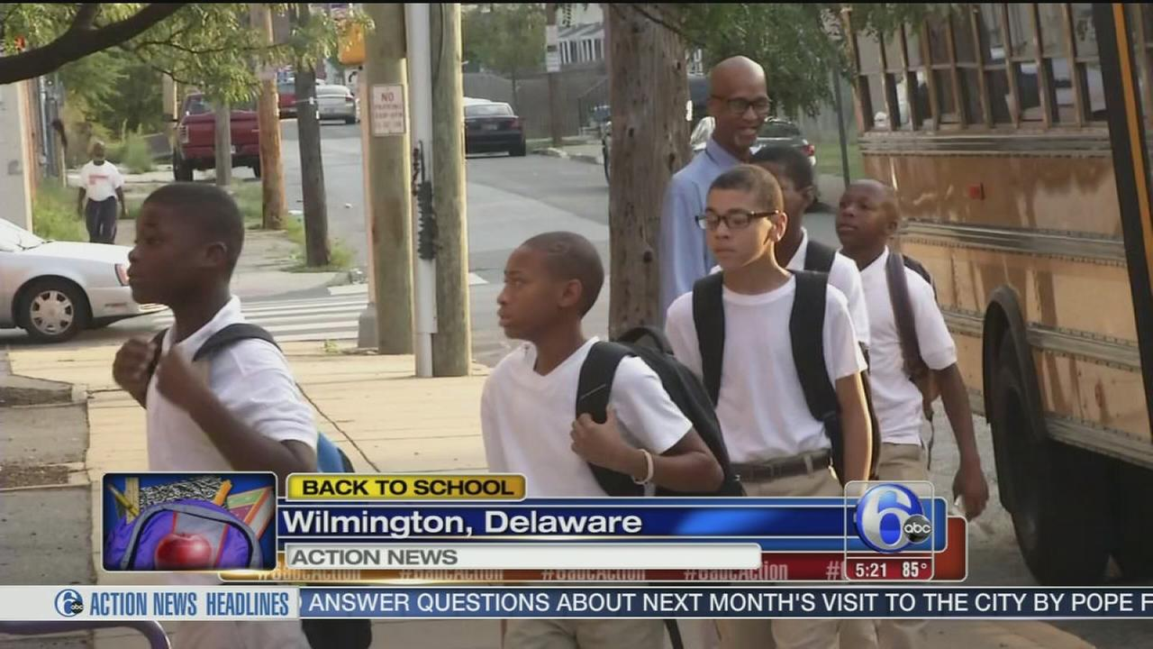 Back to school day for Prestige Academy students