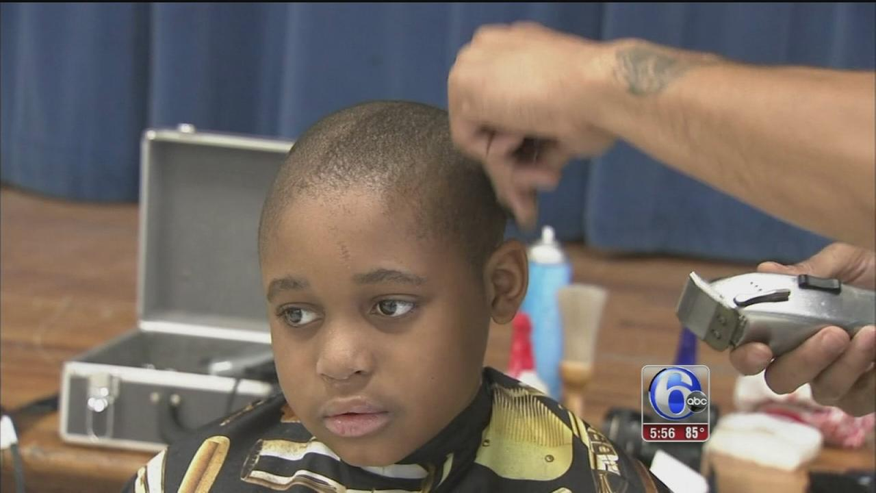 Local barbershops make sure youngsters look their best