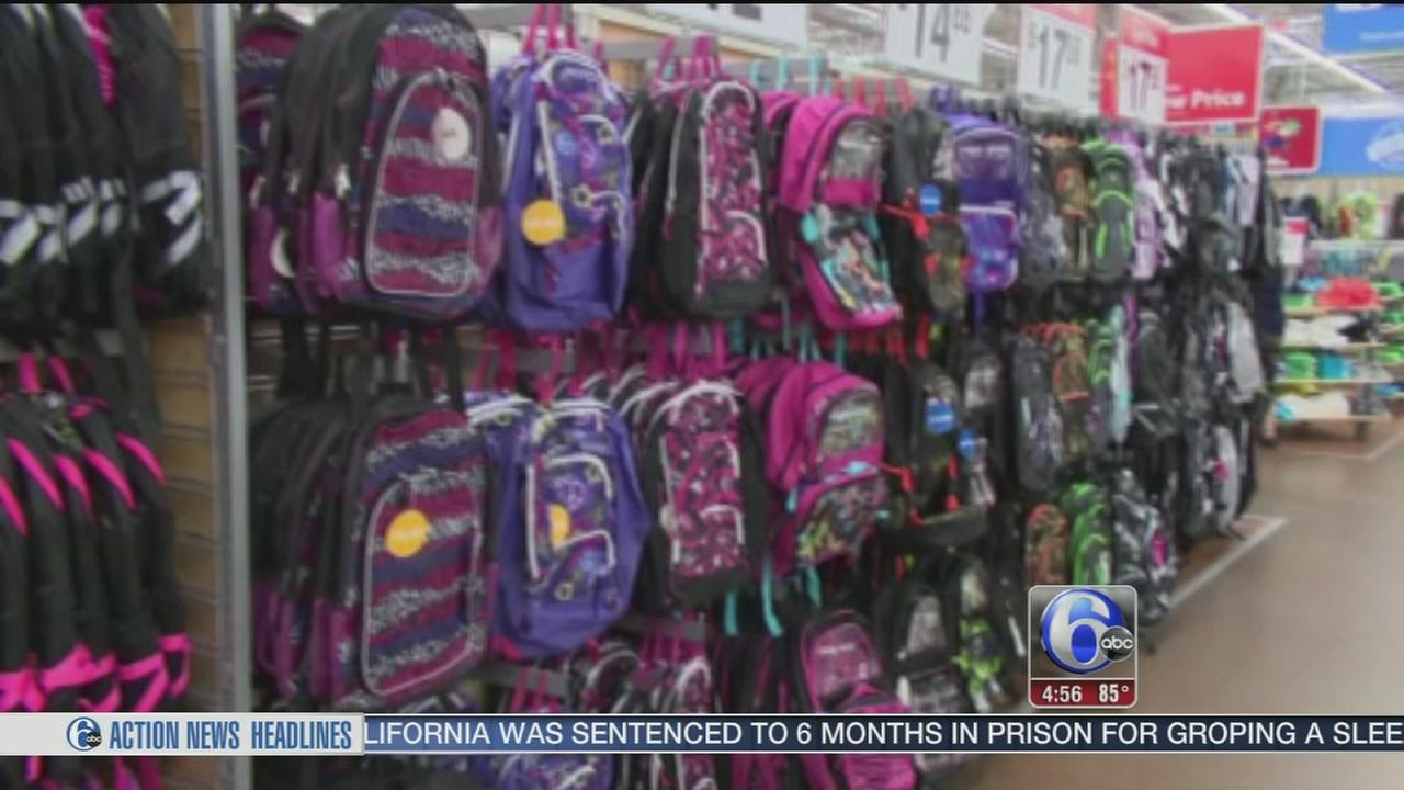 VIDEO: Backpack buying tips for back to school