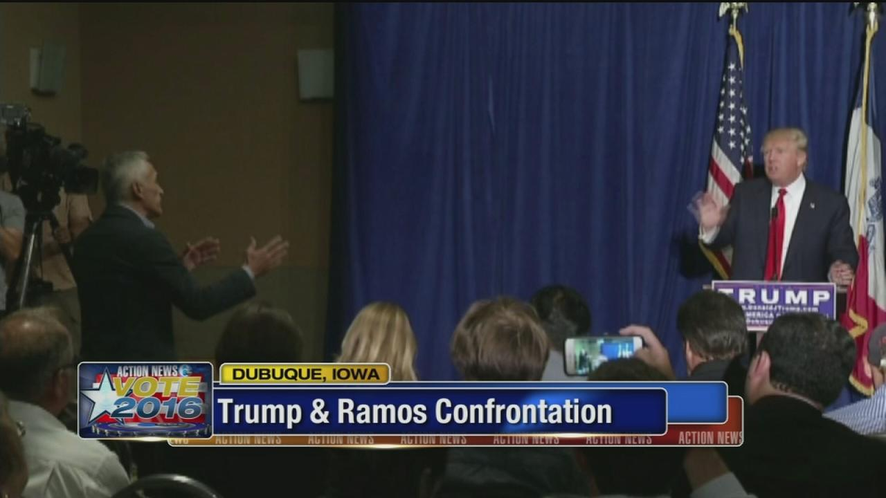 VIDEO: Trump removes Univision reporter from news conference
