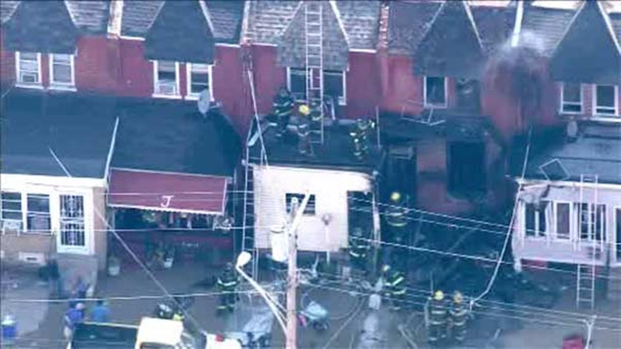 Blaze destroys home in Logan