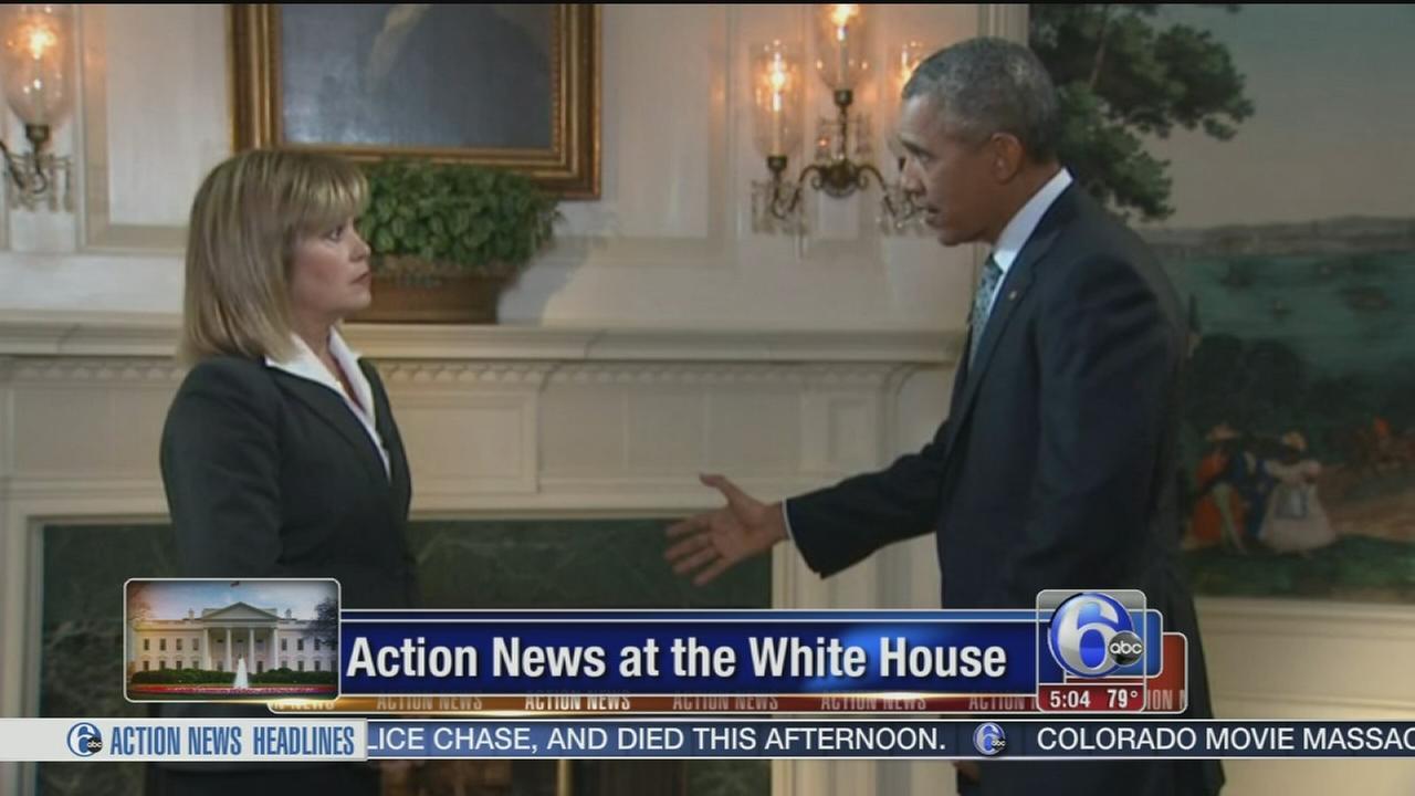VIDEO: President Obama talks Va. shooting with Monica Malpass