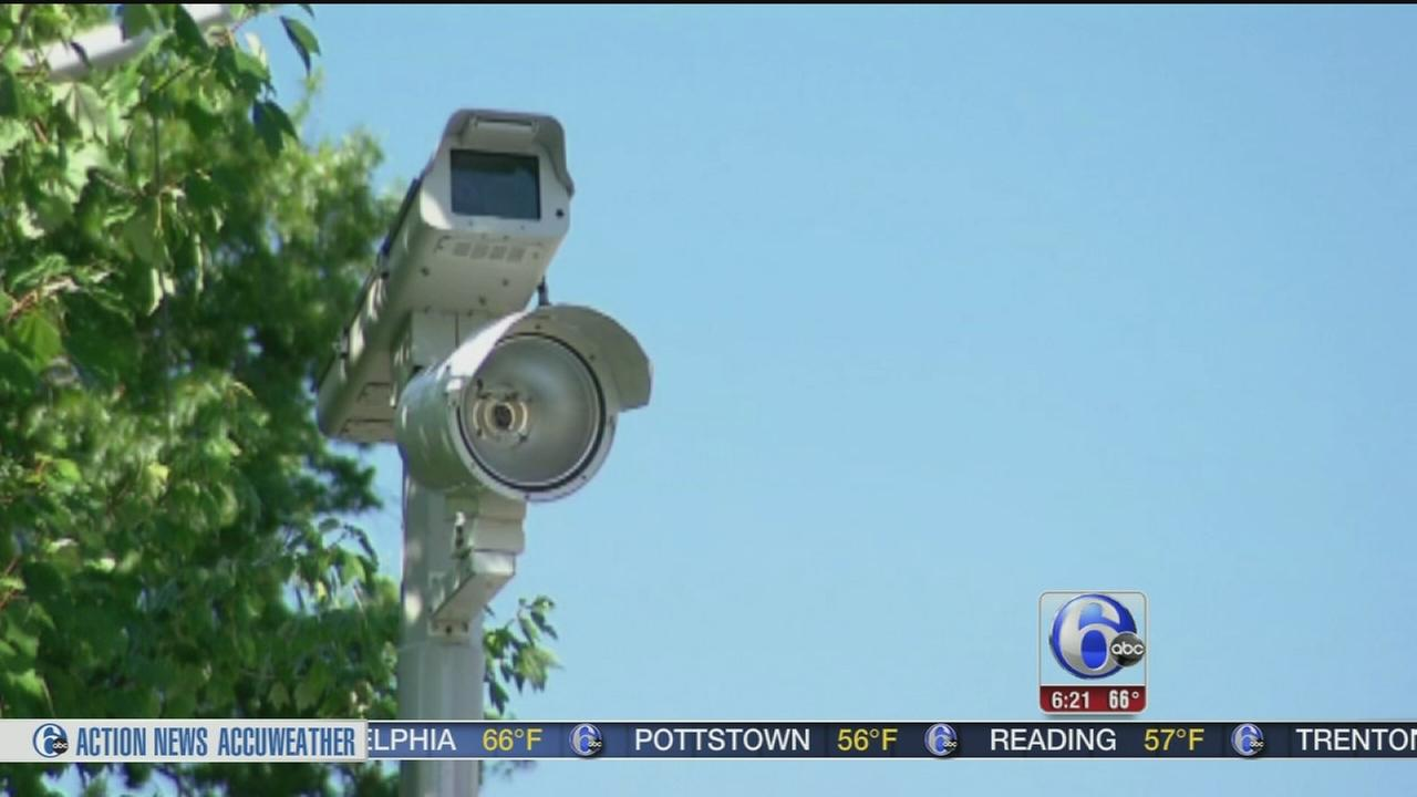 VIDEO: Man arrested for tampering with cameras