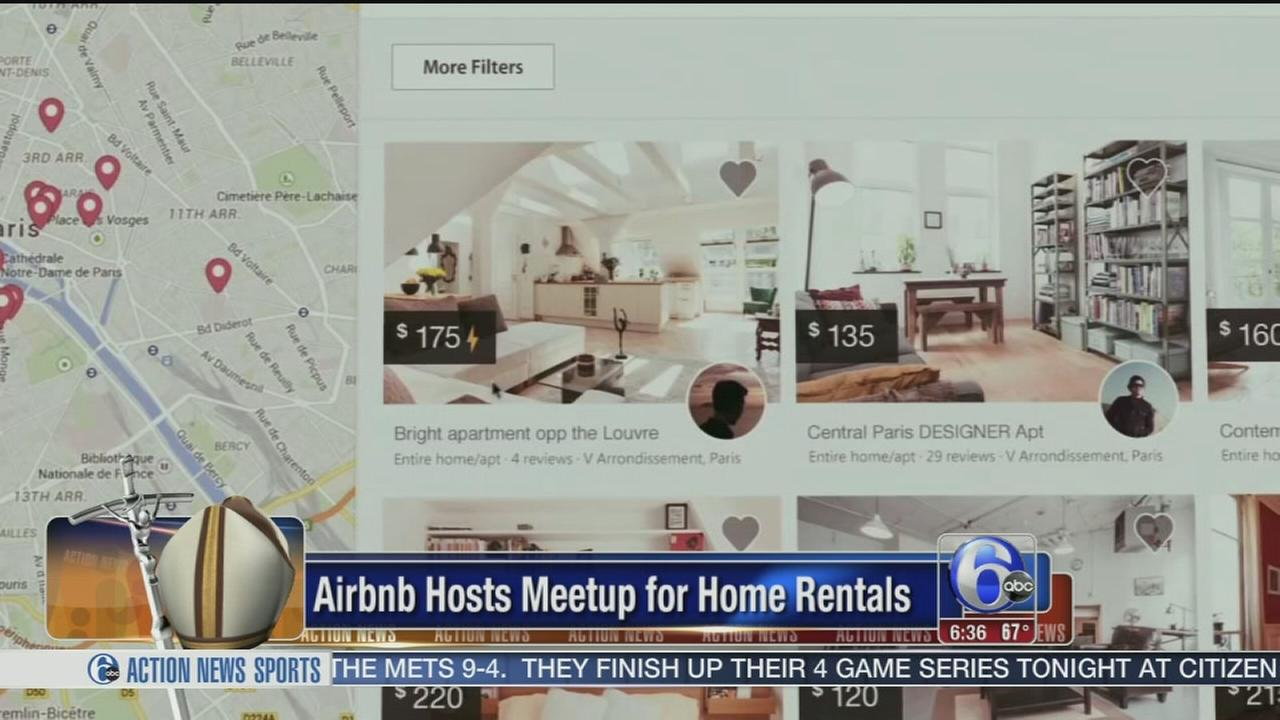 VIDEO: Meetup about papal visit rentals