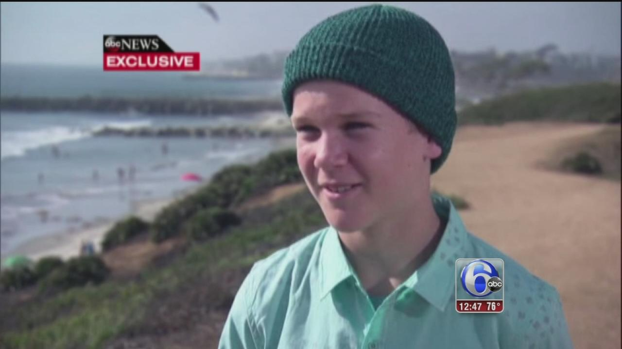 VIDEO: Boy hit by small plane on beach speaks out