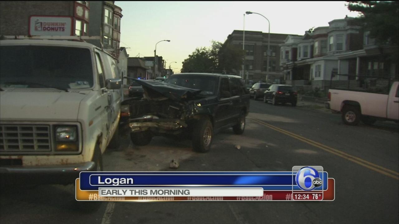 VIDEO: Driver hurt in Logan crash