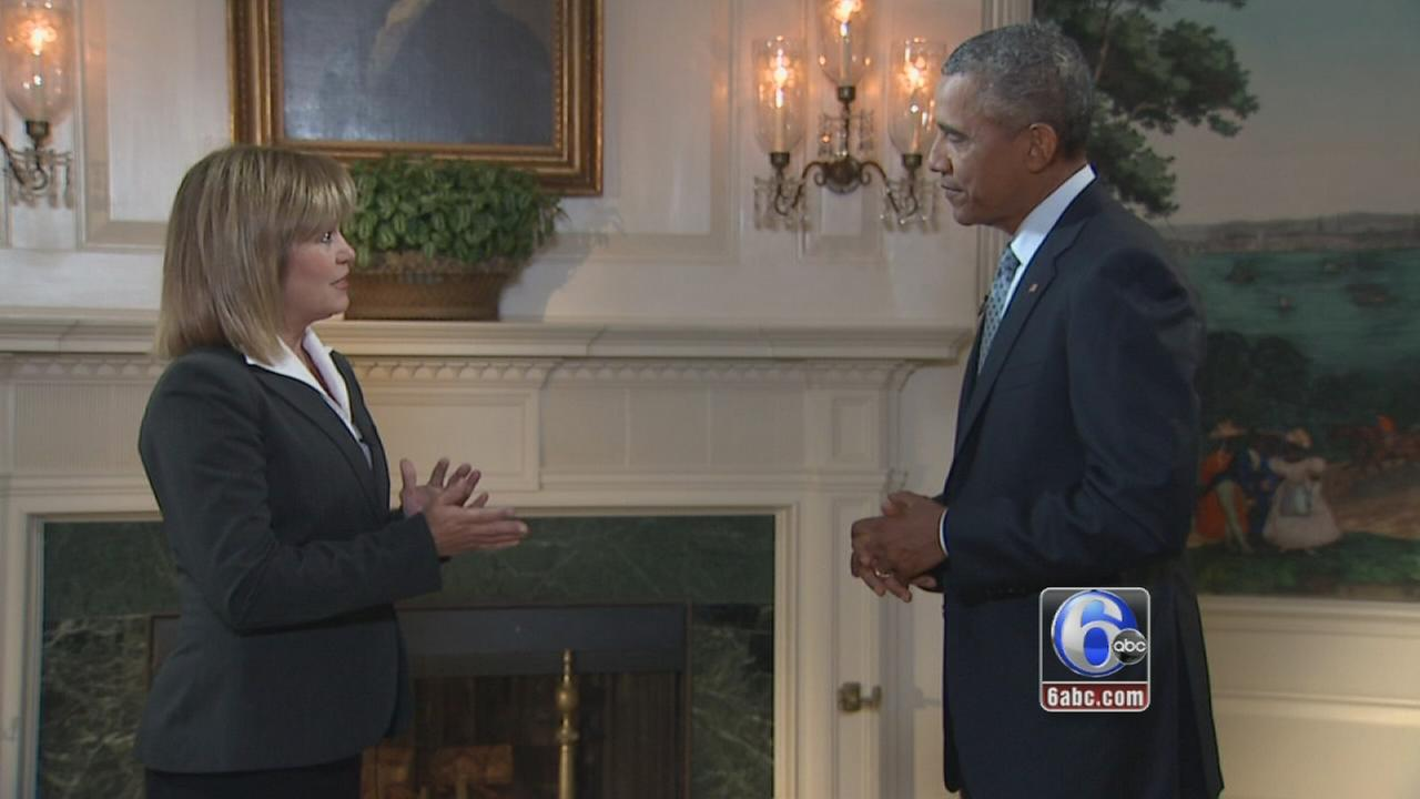 VIDEO: Monica Malpass interviews President Obama